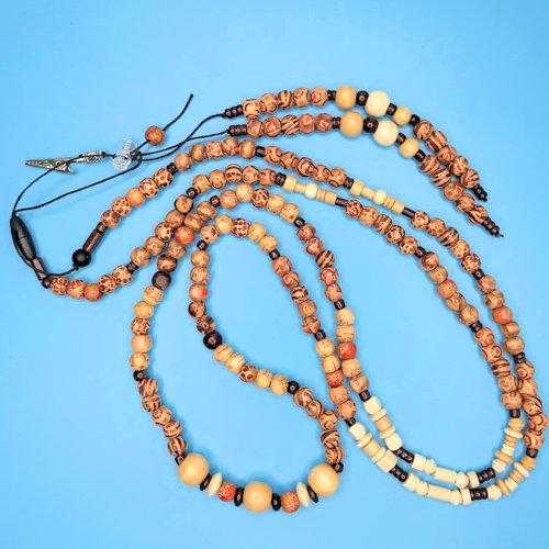 Wooden Necklace L/XL