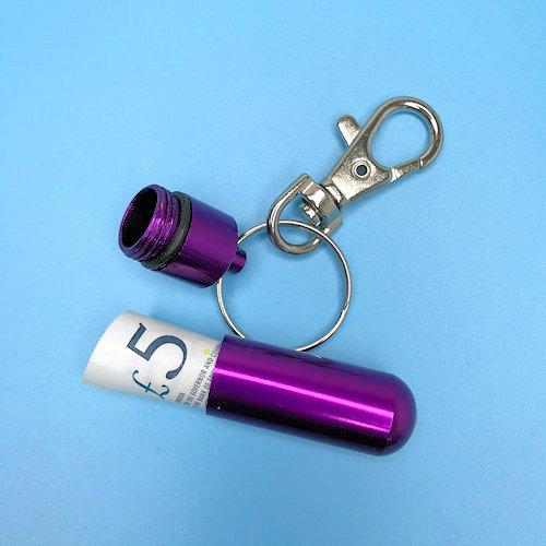 Emergency Key Ring Case